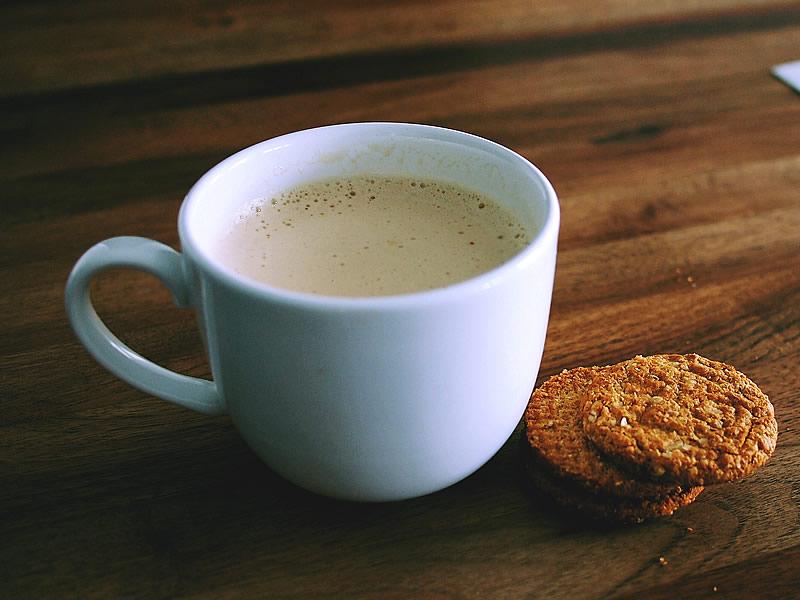 Çay latte tarifi ve yapımı