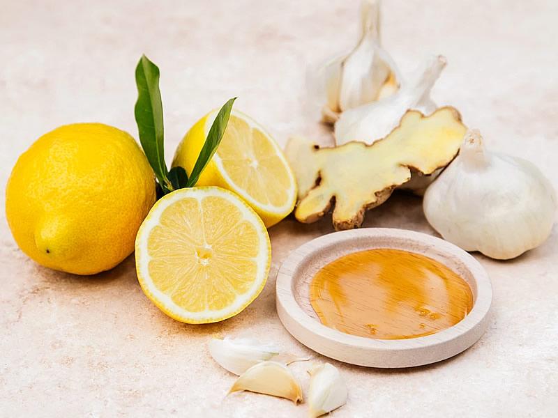 Limon Zencefil Sarımsak Karışımlı Zayıflama Kürü