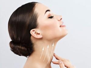 Boyun kırışıklığı için ameliyat, egzersiz ve doğal maske yöntemleri