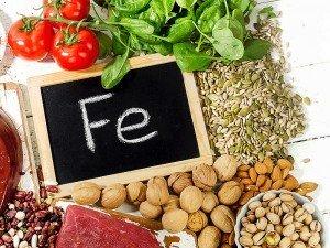 Demir içeren besinler, sebzeler, meyveler, yiyecek ve içecekler nelerdir?