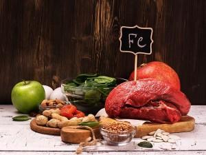 Demir içeren yiyecekler, içecekler, besinler nelerdir?