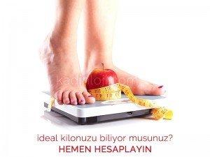 İdeal kilo ve beden kitle endeksi nasıl hesaplanır?