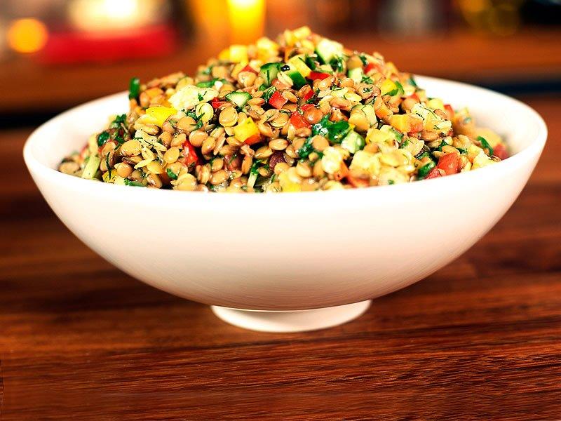 Yeşil mercimek salatası diyeti nasıl yapılır? Kalorisi ve tarifi nedir?